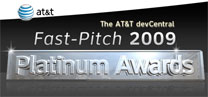 AT&T Fast-Pitch 2009 Platinum Awards Runner Up