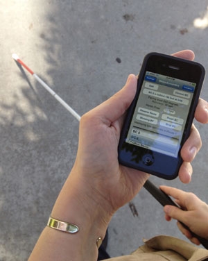 iphone 4s apps for the visually impaired